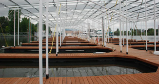 covered boat slips